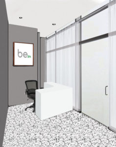BeSpa Cryotherapy Reception Image